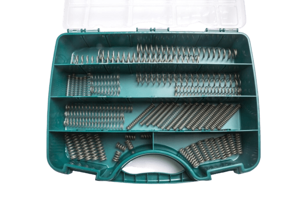 Standard working boxes with springs